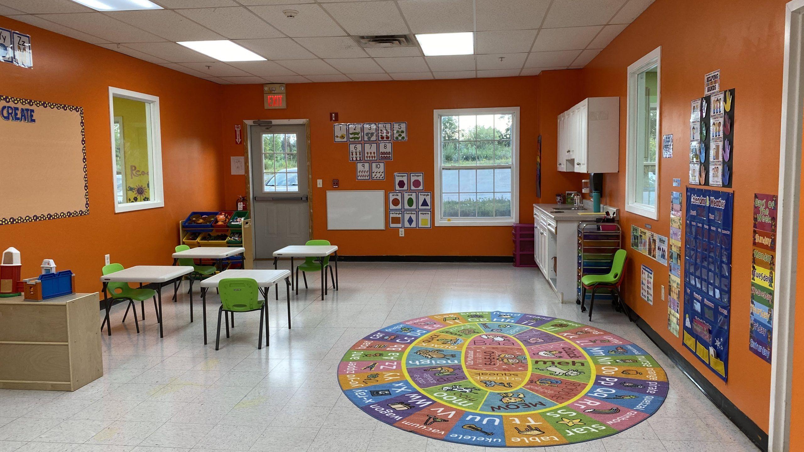 Early preschool Classroom